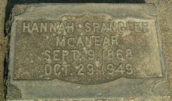 Hannah Leneta <i>Spangler</i> McAnear