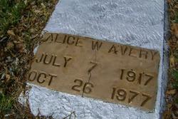 Alice W. Avery