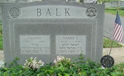 Harry E. Balk