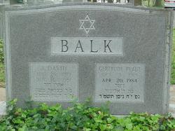 A. David Balk