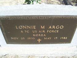 Lonnie M. Argo