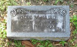 Ocie M. <i>Dunlap</i> Baird