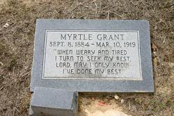 Myrtle Elizabeth Grant