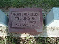 Marguerita Ellen Wilkinson