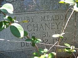 Ruby Gertrude <i>Meador</i> Chaney