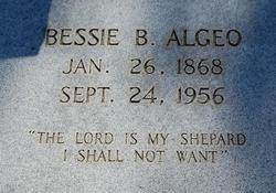 Bessie B <i>McInnis</i> Algeo