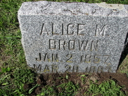 Alice M. <i>Catlin</i> Brown