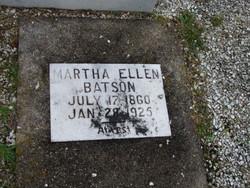 Martha Ellen <i>Hooker</i> Batson