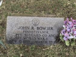 John Rickle Bowser