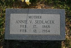 Annie <i>Valicek</i> Sedlacek
