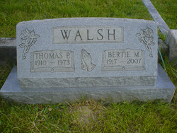Bertie M. <i>Triplett</i> Walsh