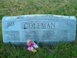 Ida Matilda <i>Eckman</i> Coleman