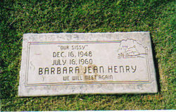 Barbara Jean Sissy Henry