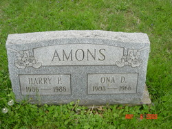 Harry P Amons