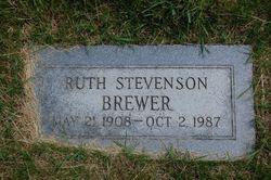 Ruth <i>Stevenson</i> Brewer
