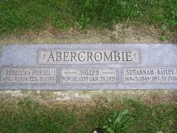 Susannah <i>Bailey</i> Abercrombie