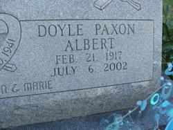 Doyle Paxon Albert