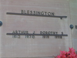 Arthur J Blessington