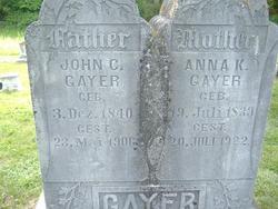 Anna Carlein Kiefner <i>Bauer</i> Gayer