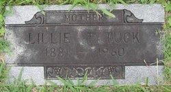Lillian Pearl Lillie <i>Thompson</i> Tuck