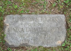 Elphrida Kitty <i>Rogers</i> Rudd