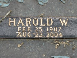 Harold Wesley Dowden