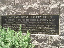 Ocotillo Cemetery at Goodyear