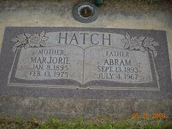 Marjorie <i>Wall</i> Hatch