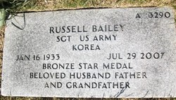 Sgt Russell Bailey