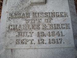 Sarah Ann <i>Kissinger</i> Birch