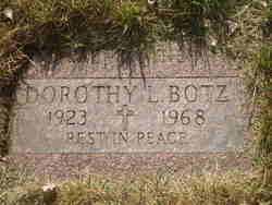 Dorothy Lou <i>Graham</i> Botz