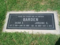 Dean Elbron Barden