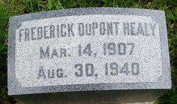Frederick Dupont Fred Healy
