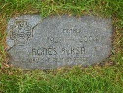 Agnes <i>Janik</i> Alksa