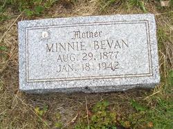 Minnie Bevan