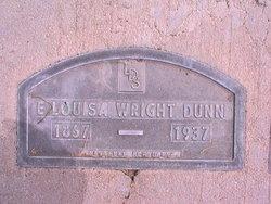 Louisa Elizabeth <i>Wright</i> Dunn