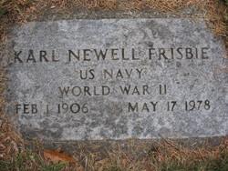 Karl Newell Frisbie
