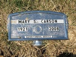 Mary S. <i>Stewart</i> Carson