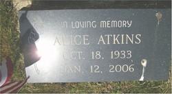 Alice <i>Early</i> Atkins