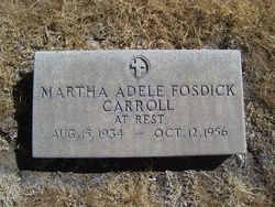 Martha Adele <i>Fosdick</i> Carroll
