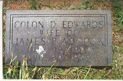 Delitha Colon Colon <i>Edwards</i> Adcock