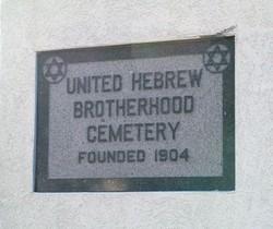 United Hebrew Brotherhood Cemetery