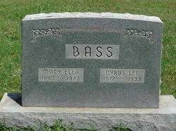 Cyrus Lee Bass
