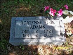 Hortence Rose <i>Jackson</i> Adams