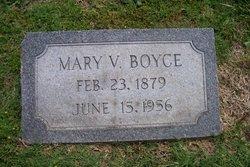 Mary Virginia <i>Harrell</i> Boyce