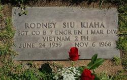 Rodney Siu Kiaha, Sr