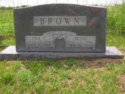 Ora F Brown