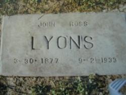 John Ross Lyons