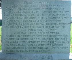 Phebe <i>Preston</i> Moore