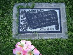 Edna E. <i>Burgess</i> Brown